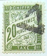 Timbre France  Taxe 20 c  - 1893/1935 - YT - N° 31