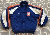 Vintage 90s 1990s Denver Broncos Reebok NFL Football Puffy Jacket Size Medium