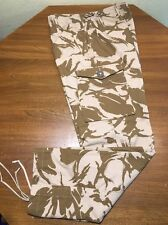 NEW! British Trousers Pants Combat Camo Windproof Water Resist Desert DP 34x32""