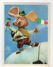 figurina TOPO GIGIO ALBI PER LA GIOVENTU' 1975 EDIZIONI PEREGO IMPERIA num. 154