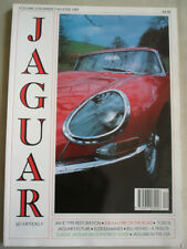 Jaguar Quarterly Winter 1989 XJR-S 6 litre, XJ220, E Type restoration