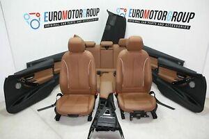 bmw 3er F30 Sport Leather Seats Lederausstattung LEDER DAKOTA SATTELBRAUN