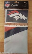 Wincraft Sports NEW And Sealed 3'x5' Denver Broncos Flag