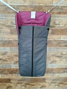 Graco Pink And Grey Baby Stroller Liner/ Cosy Toes One Size
