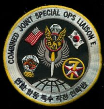 USAF ROKAF Combined Joint Special Operations Liaison Element Korea  Patch T-5