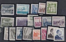 TURCHIA-TURKEY 1959-60 Vedute soggetti vari 1434-43C MNH