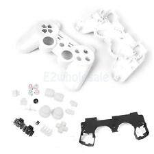 Full Housing Shell Case Button Kit for Sony PS3 Wireless Controller White