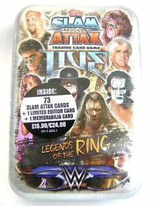 WWE Slam Attax Live 2018 Legends of the Ring Mega Tin