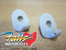 07-10 Dodge Nitro & 08-12 Jeep Liberty Replacement Sun Visor Clip Set of Two OEM