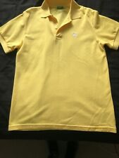 Boys Yellow Polo Shirt Age 11-12 By United Colours Of Benetton