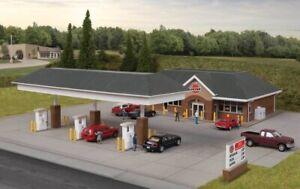 Walthers 933-3537 HO Modern Gas Station Kit