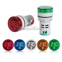 DC 6-100V 22MM Mini LED Voltmeter Digital Display Voltage Meter Volt Tester