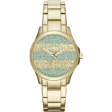 645524740cb2 Tono Oro Armani Exchange AX5243 Acero Inoxidable Reloj con Cuadrante Pave  Sin Caja