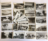 26x RPPC Carmel and Monterey California Postcards Lot Point Lobos 17 Mile Drive