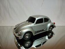 MT JAPAN VW VOLKSWAGEN BEETLE - RC RADIO CONTROL - SILVER L26.0cm - GOOD COND