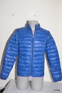Doudoune légère pour homme - CROSSBY 12500 SILK Bleu - T. M / L - NEUF