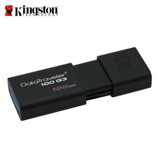 Kingston 128GB Data Traveler100 G3 DT100 G3 USB3.0 Flash Drive with Tracking#