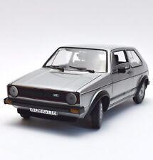 SUN STAR 1091 VW Volkswagen Golf I GTi en argent laqué, neuf dans sa boîte, 1:18, k022