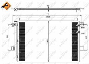 NRF 350041 Condensador Aire Acondicionado