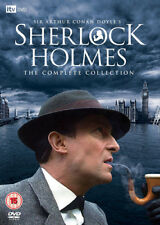 Sherlock Holmes: The Complete Collection DVD (2009) Jeremy Brett ***NEW***