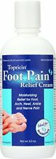 4 Pack Topricin Foot Pain Relief Cream, Good for Diabetics 8 Oz Each Bottle