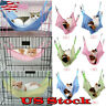 Pet Cat Hammock Bed Breathable Mesh Cloth Cool Bed Removable Hanging Soft Cages