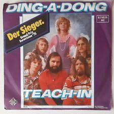 "Teach-In: Ding-A-Dong - 7"" Single Vinyl"