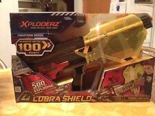The Maya Group Xploderz Cobra Shield Blaster Firestorm Series Brand New Sealed