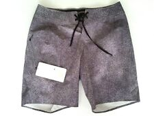 Lululemon Mens Current State Board Short Size 30 Swim Black Gray CRAB $98 NWT
