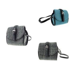 Mini Harris Tweed Shoulder Bag Tyne by Glen Appin of Scotland Various Colours