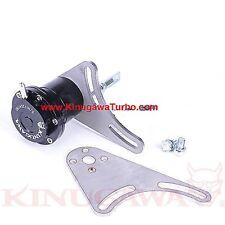 "Kinugawa Turbo Adjustable Actuator 3"" Cover w/ T3 / 3 Bolt V-Band Turbine 1.2Bar"
