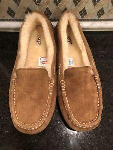 Women's UGG Ansley Chestnut Slippers- size 12- #3312