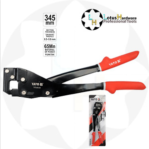 Profil Stud Sections Crimping Tool 345mm For Metal Sheets 0.5-0.8 Yato YT-5131