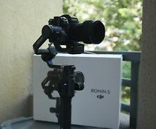 DJI Ronin-S Gimbal with Panasonic Camera Control cable, Extras and Original Case