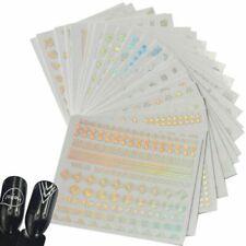 Nail Sticker 24pcs Polish Decoration Accessory Decal 3D DIY Foil Art Manicure