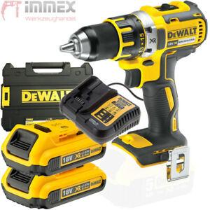 DeWalt DCD796N 18 V XR Brushless Combi Perceuse Chargeur Et Étui 1 x 5.0Ah Pile