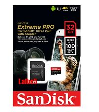 Sandisk Extreme Pro 32GB Micro SD SDHC 100MB/s UHS-1 Class 10 Memory card