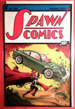 Spawn 228 Action Comics 1 Homage to Superman McFarlane Art