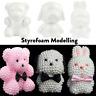 Modelling Polystyrene Styrofoam Foam Bear Dog Rabbit Craft Ball Party Decor Gift