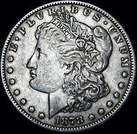 1878 Morgan Dollar Silver US Coin   ----   NICE   ---- #D734