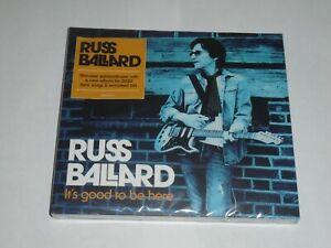 RUSS BALLARD It's Good To Be Here CD NEW & SEALED