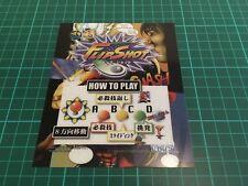 Marquee Snk Neo Geo MVS Borne Arcade Jamma Artset Flip Shot Original