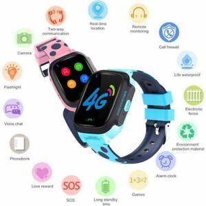 Child Smart Watch Video Call GPS LBS Tracker Phone 4G Wrist Watch Smartwatch New
