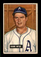 1951 Bowman #192 Hank Wyse VGEX RC Rookie Senators 401020