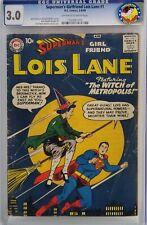 SUPERMAN'S GIRLFRIEND LOIS LANE #1 CGC 3.0