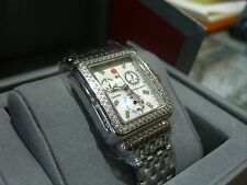 MICHELE WATCH Deco Day Diamond, Authentic with Box & Papers RETAILS $1995.00 ***