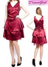 SALE! Ladies Party Dress Knee Length Bridesmaid Dress Size XL UK 14