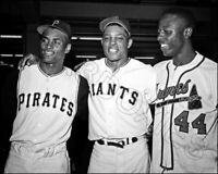 Clemente Mays Aaron Photo 8X10 Pirates Giants Braves  Buy Any 2 Get 1 FREE