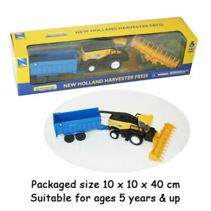 New Holland FR920 Forage Harvester & Trailer Scale 1:62 Model Diecast NEW