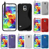 Coque Etui TPU S Silicone Samsung Galaxy S5 new noir SM-G903F/ S5 Plus/ S5 Duos